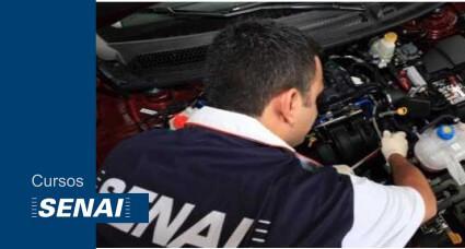 Curso Gratuito SENAI Mecânico de Automóveis e Caminhões
