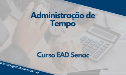Curso EAD Senac Administração do Tempo