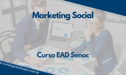 Curso EAD Senac EAD Marketing Social!